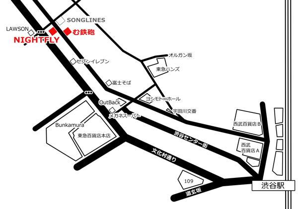 無鉄砲の地図画像